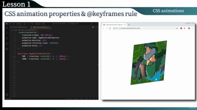Interactive Web Animation 2021 [ JavaScript SVG CSS & HTML ]