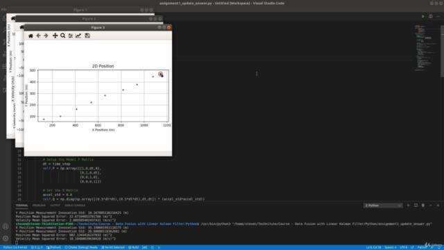 Data Fusion with Linear Kalman Filter