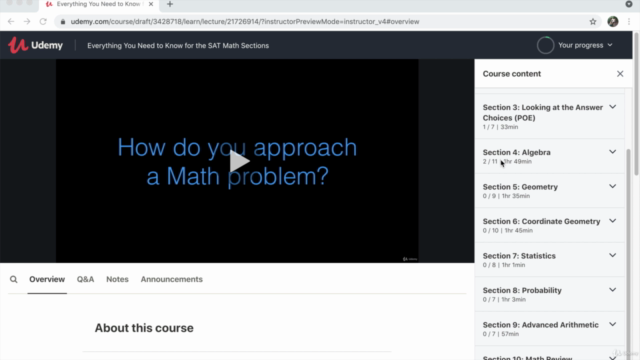 Everything You Need to Know for the SAT Math Sections