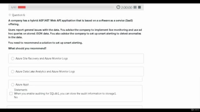 AZ-304: Microsoft Azure Architect Design -  Prep Exam Tests
