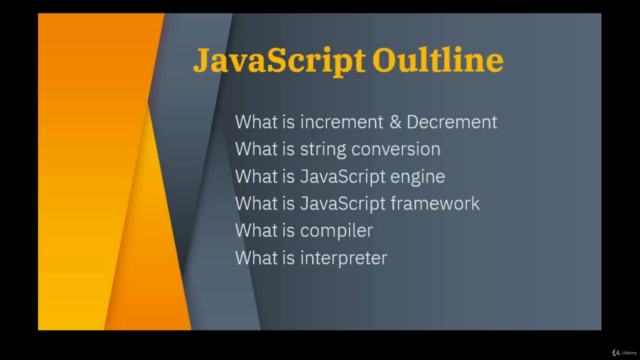 The JavaScript Complete Guide Course