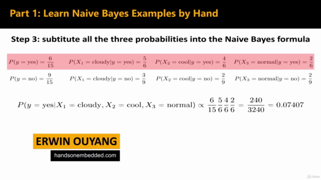 Artificial Intelligence and IoT: Naive Bayes