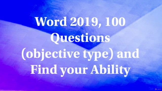 Microsoft Word : M.S. Word 2019 with Confidence