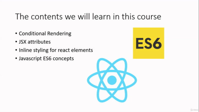 Complete React Bootcamp - Build Hands on projects