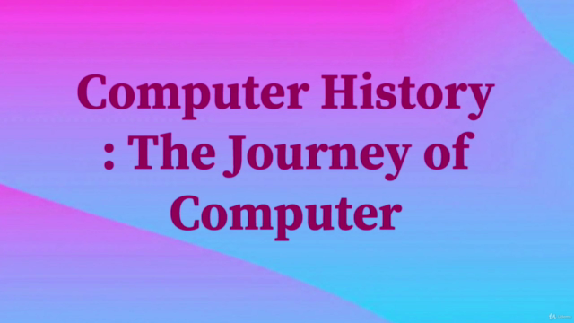 Computer History : The Journey of Computer