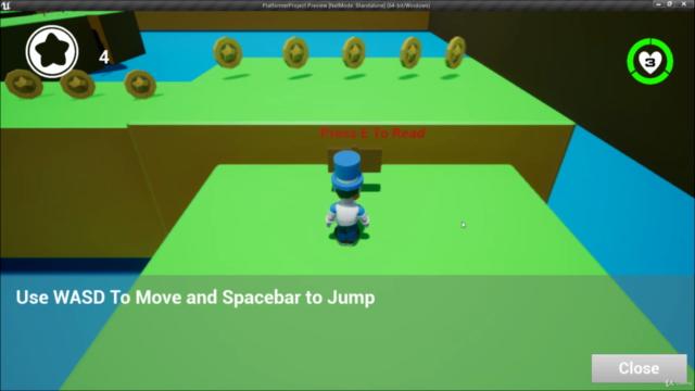 How To Make a 3d Platformer In Unreal Engine 4