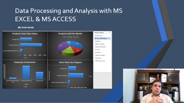 Data Processing and Analysis with MS EXCEL & MS ACCESS