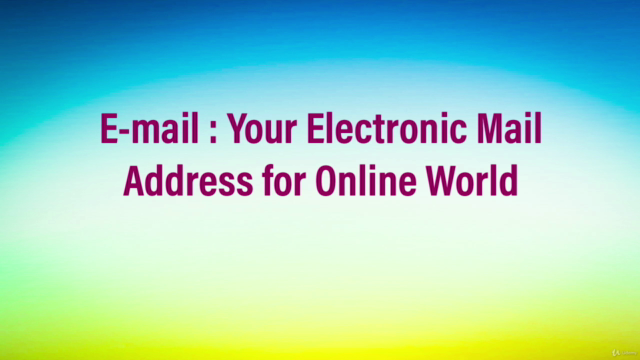 E-mail : Your Electronic Mail Address for Online World