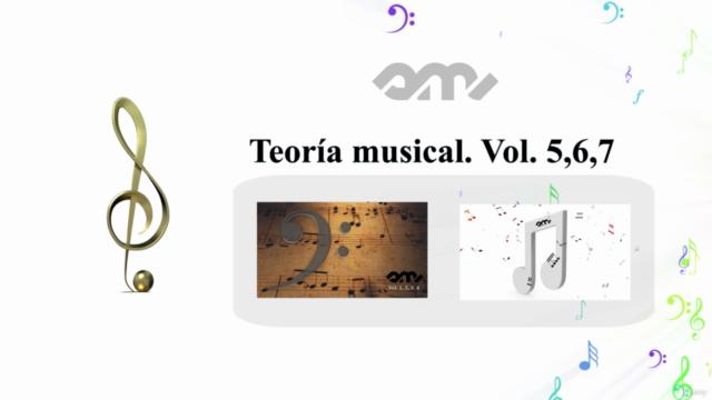 Teoría musical. Vol. 5, 6, 7