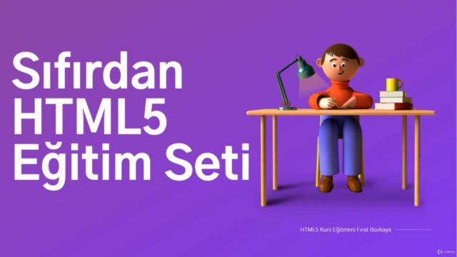 Sıfırdan HTML5 Eğitim Seti