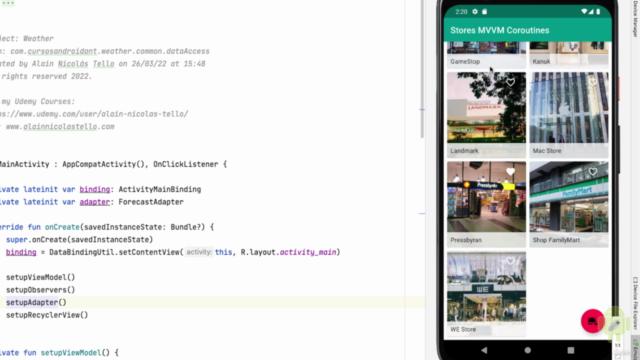 Curso de Android 11 con Kotlin: Intensivo y práctico 2021