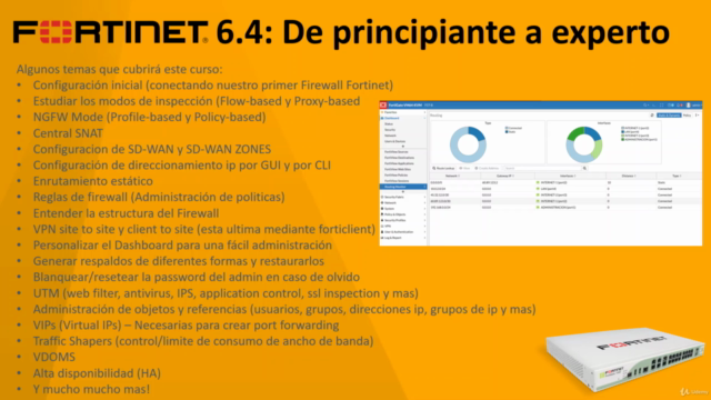 Fortinet 6.4: De principiante a experto