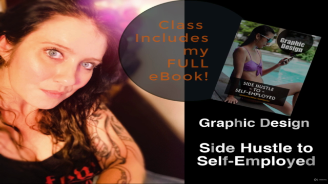 Graphic Design: Side Hustle to Self-Employed