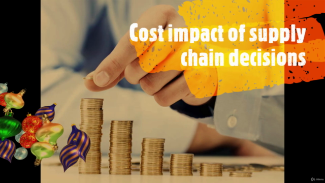 Supply chain cost control for reducing the end product cost