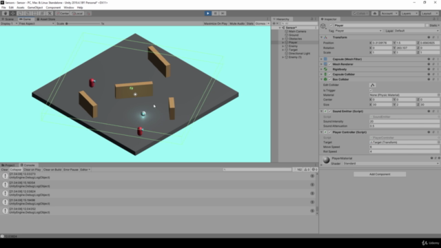 Introduction to Artificial Intelligence in Unity 2021