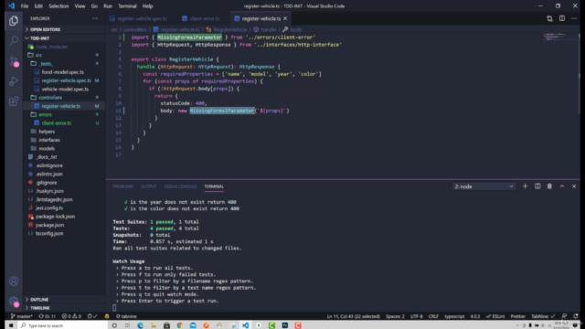 Programador Autodidacta Node.js, TypeScript, TDD, Clean Code