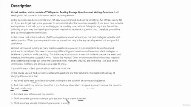 SAT Exam - Verbal Practice Questions (200 questions )