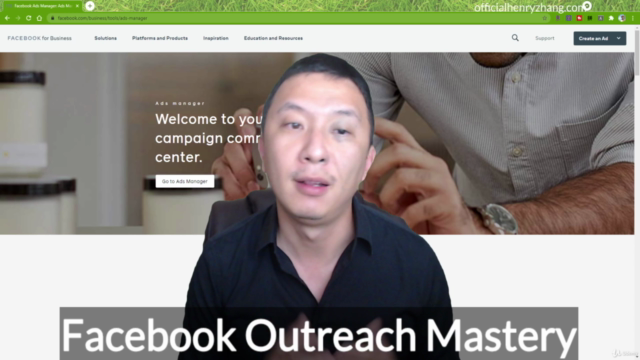 Facebook Outreach Mastery 2021
