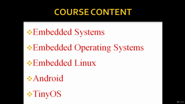 Fundamental of Embedded Operating Systems