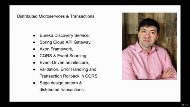 Event-Driven Microservices, CQRS, SAGA, Axon, Spring Boot