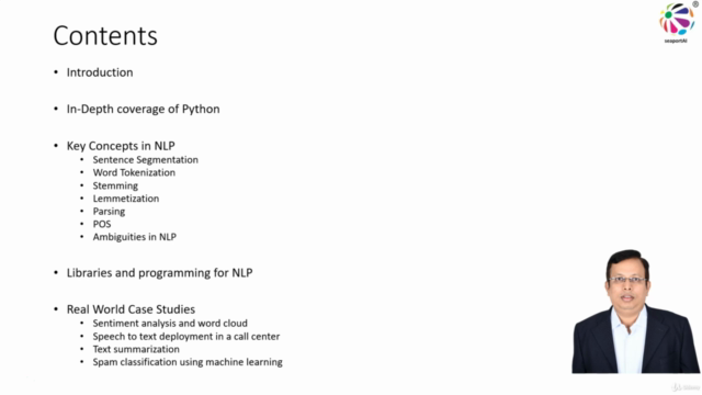 Master Natural Language Processing (NLP) with Python