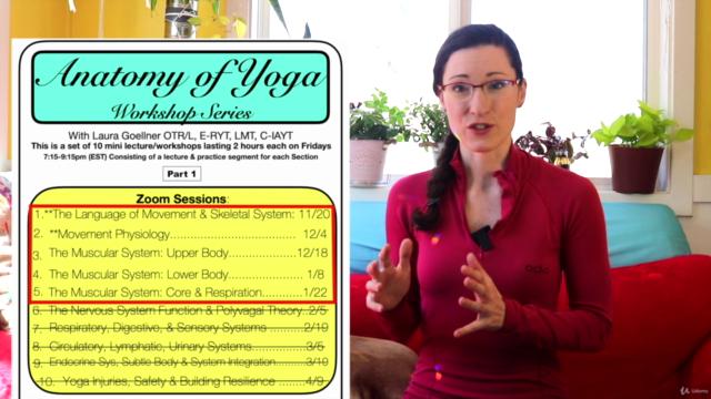 """Anatomy of Yoga"" 1: Teacher Training Workshop Series"