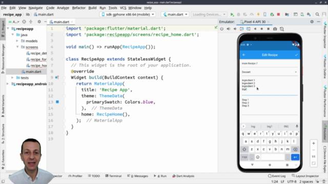 Flutter Forms : Créer une app de Recettes avec Flutter