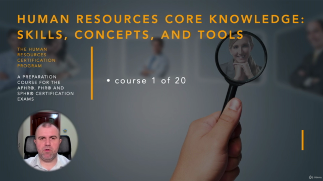 Human Resources Skills, Concepts and Tools (HRCI - PHR/SPHR)