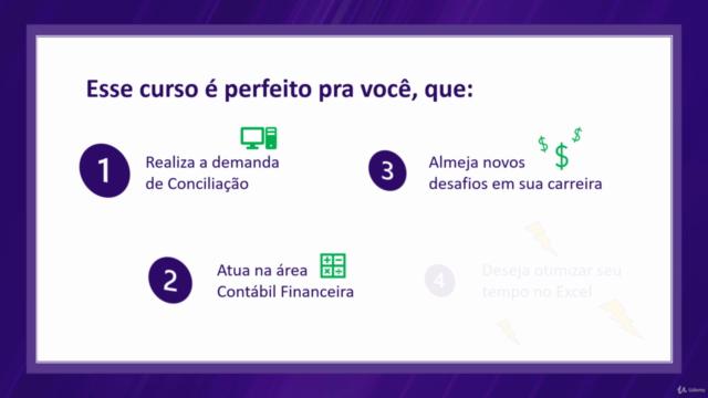 Conciliação Contábil Financeira com Excel