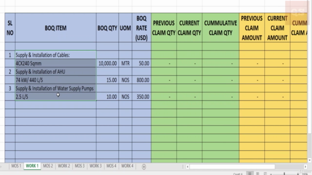 Quantity Surveying Templates for Effective Cost Management