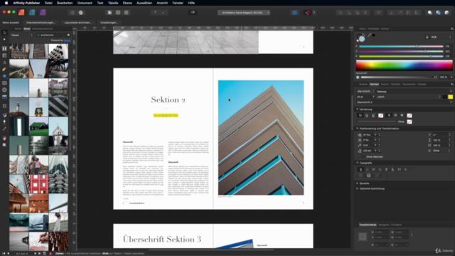 Grafik- und Mediendesign Masterclass mit der Affinity Suite
