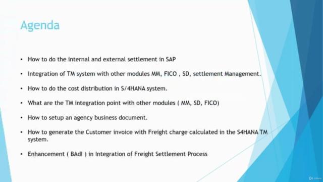 SAP S/4HANA TM 2020 Freight Settlement Process (Functional)