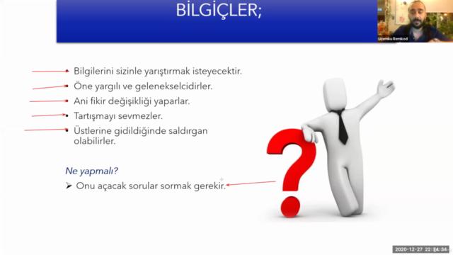 Türkiye'de İlişkilerde Karakter İletişim Tipleri