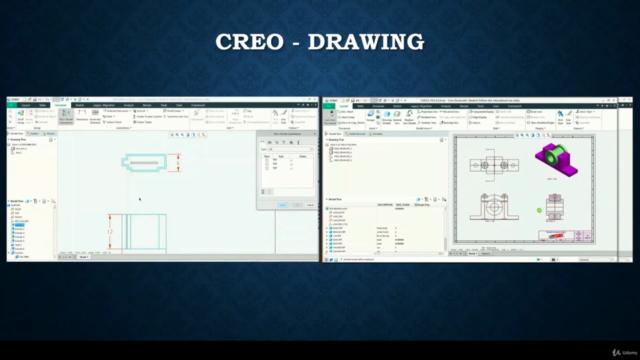 PTC Creo Parametric - Advance Course Modules - 2021