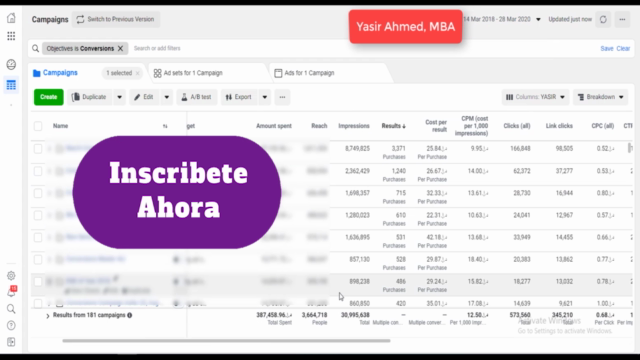 Marketing en Facebook Ads - Ecommerce para Ventas Online