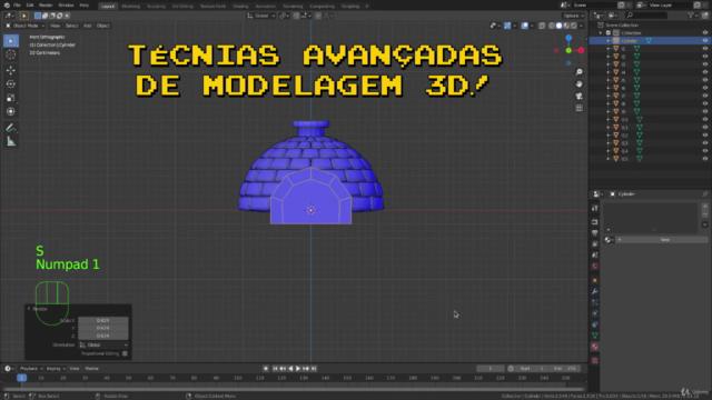 Desenvolva Games 3D com Godot + Blender - Frostbite Atari
