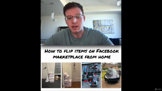 How to Flip Items on Facebook Marketplace From Home