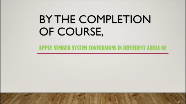 Master Number System Conversions in 2.5 hours