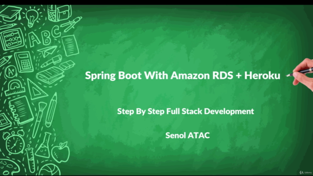 Full Stack Development With Spring Boot and AWS-RDS + Heroku