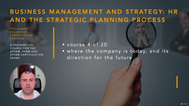 Human Resources and Strategic Planning (HRCI - PHR/SPHR)