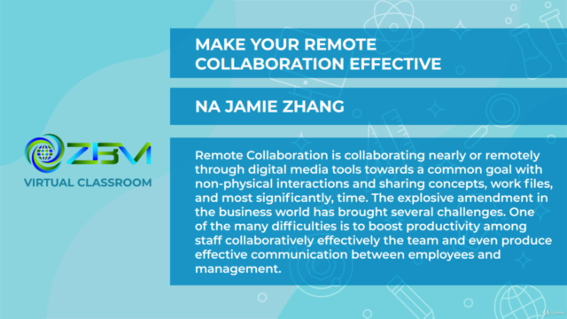 Make your remote collaboration effective