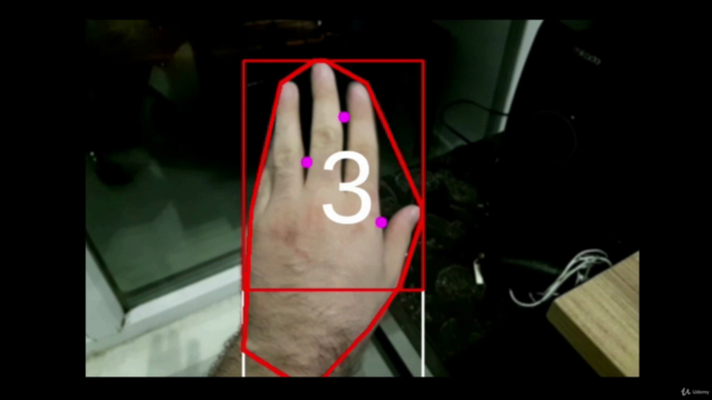 Hand tracking in AR/VR