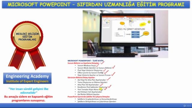 Microsoft Powerpoint Uzmanlığı Eğitim Programı