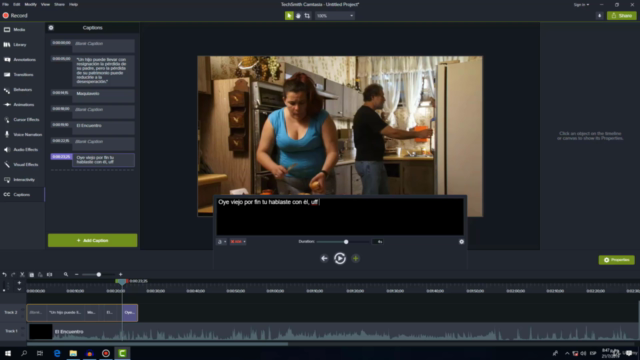 Curso de traducción y subtitulación de vídeos con CAMTASIA