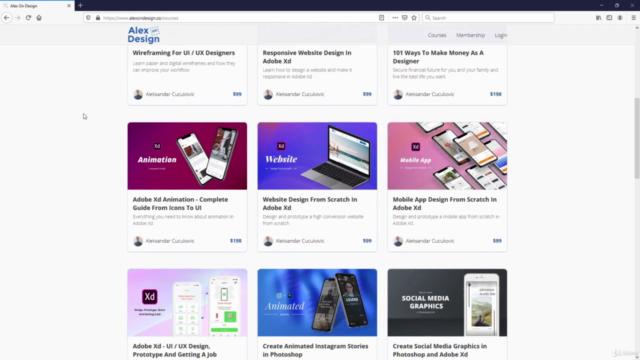 Adobe Xd 2021 Basics - UI / UX Design Course