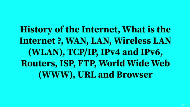 Internet : An Amazing Communication Technology in Your Life