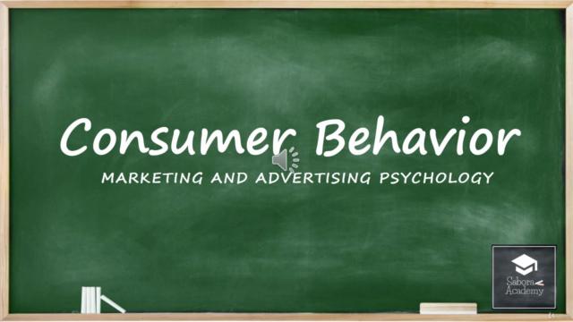 علم نفس التسويق وسلوك المستهلك