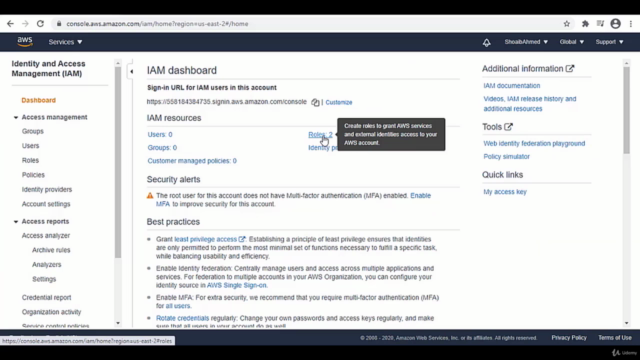 Introduction to Data Analytics on Amazon AWS Cloud