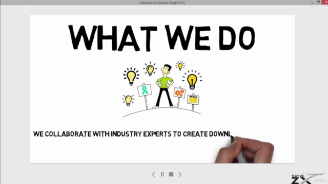 Complete Whiteboard Animation Training with Video Scribe