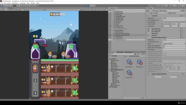 Learn how to create a 2D Idle Clicker Game in Unity 2021